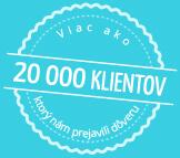 20000 klientov